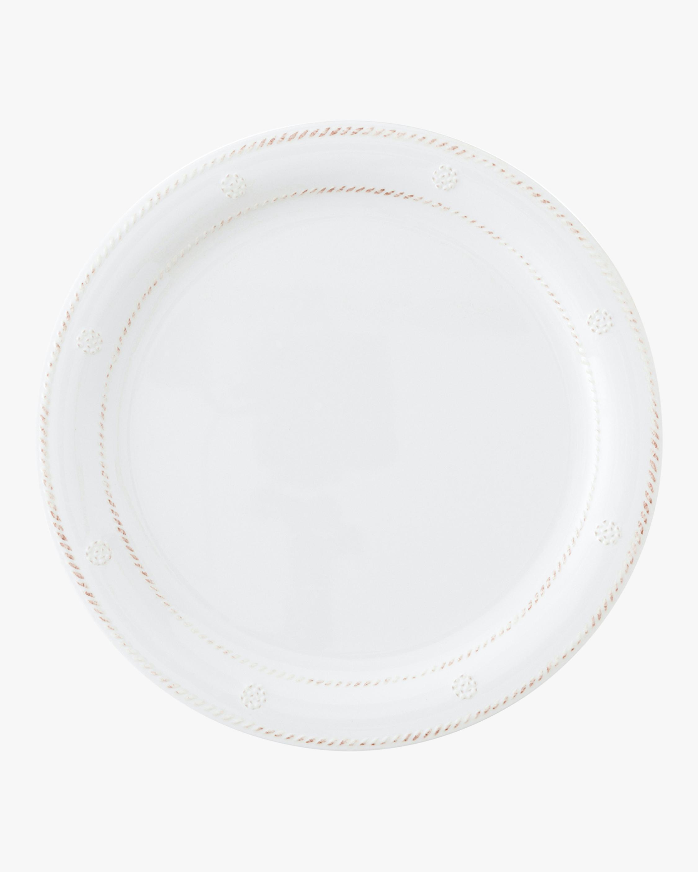 Juliska Berry & Thread Melamine Whitewash Dinner Plate 1