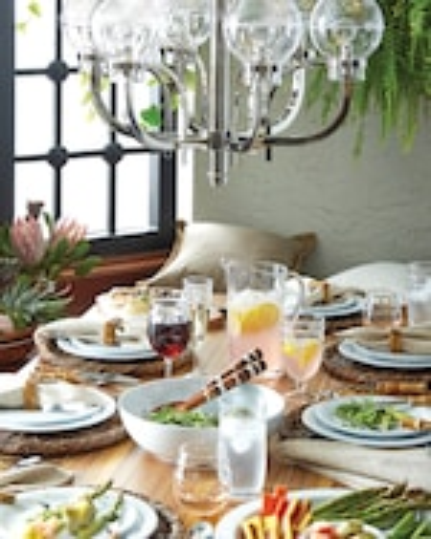 Juliska Berry & Thread Melamine Whitewash Dinner Plate 2