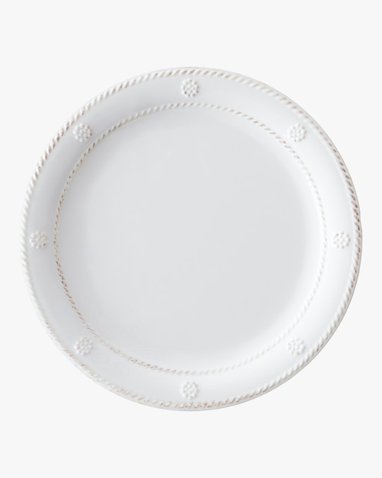 Juliska Berry & Thread Melamine Whitewash Dessert Plate 0