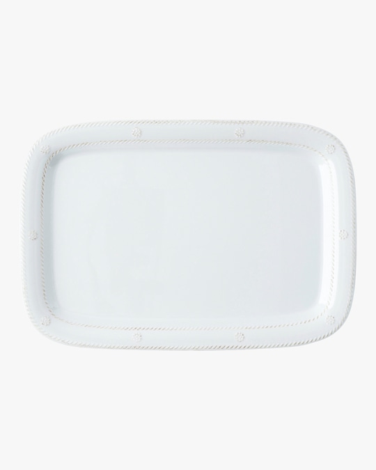 Juliska B&T Melamine Whitewash Serving Tray 0
