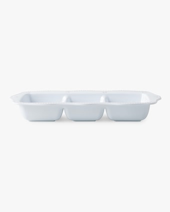 Juliska Berry & Thread Melamine Triple Section Server 1