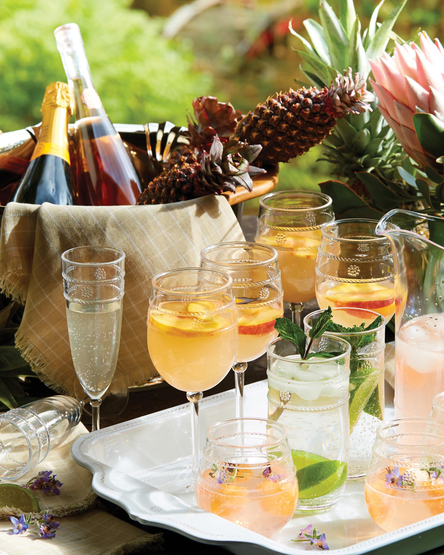 Juliska Isabella Acrylic Wine Glass 1