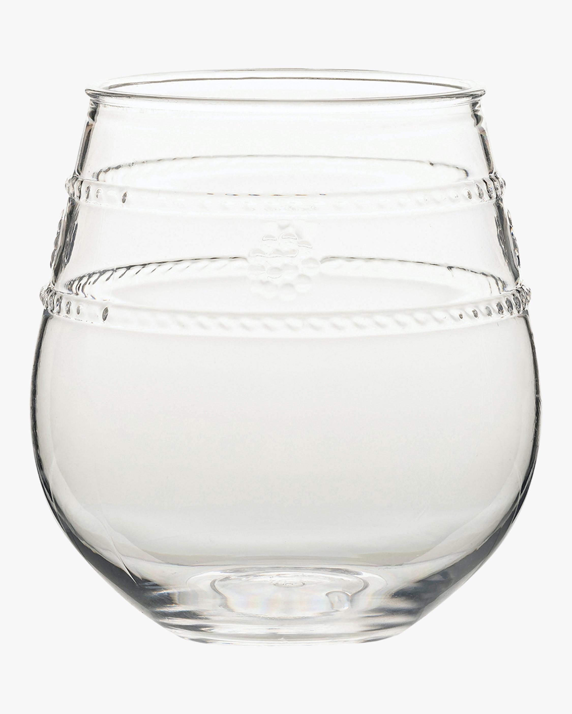 Juliska Isabella Acrylic Stemless Wine Glass 1