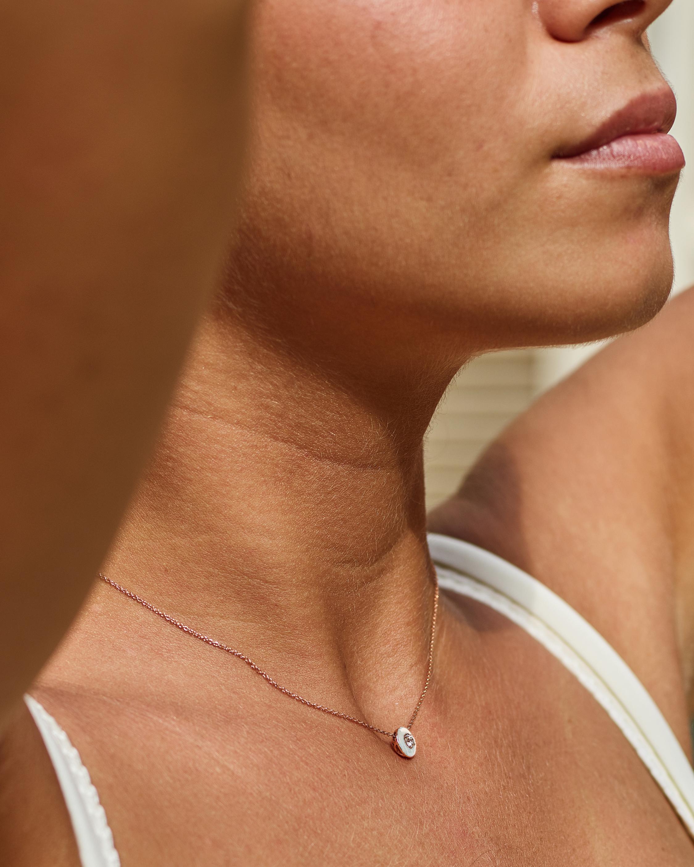 Selim Mouzannar Enamel & Sapphire Pendant Necklace 1