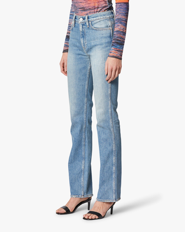 Hudson Abbey High-Rise Bootcut Jeans 3