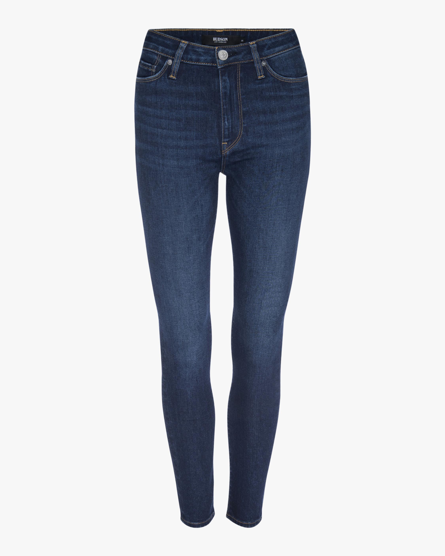 Hudson Barbara High-Waist Super-Skinny Ankle Jeans 0