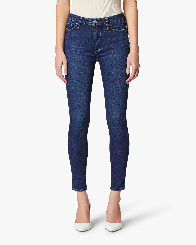 Hudson Barbara High-Waist Super-Skinny Ankle Jeans 2