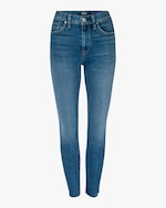 Hudson Barbara High-Waist Super-Skinny Ankle Jeans 0