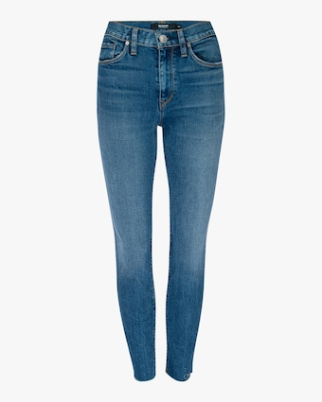 Barbara High-Waisted Super Skinny Ankle Jeans