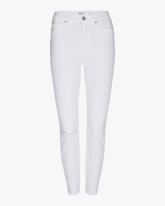 Hudson Holly High-Rise Crop Skinny Jeans 0
