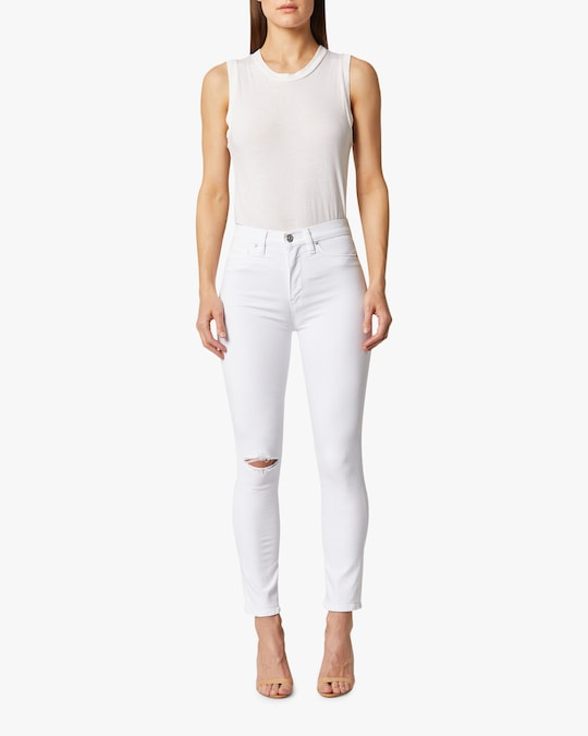 Hudson Holly High-Rise Crop Skinny Jeans 1