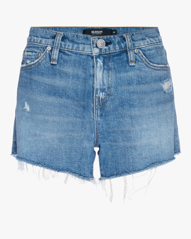 Hudson Gemma Mid-Rise Cut-Off Shorts 0
