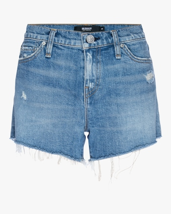 Gemma Mid-Rise Cut-Off Shorts