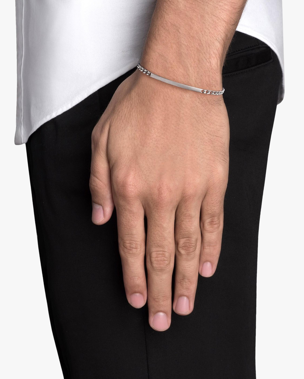 Men's ID Chain Bracelet