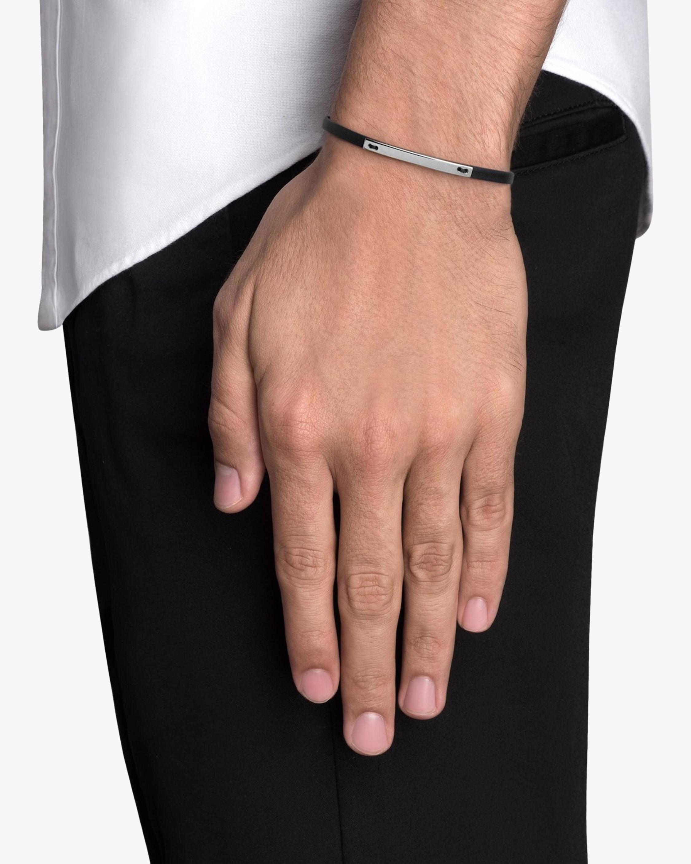Men's Nexus ID Leather Bracelet