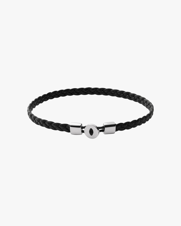 Men's Nexus Braided Leather Bracelet