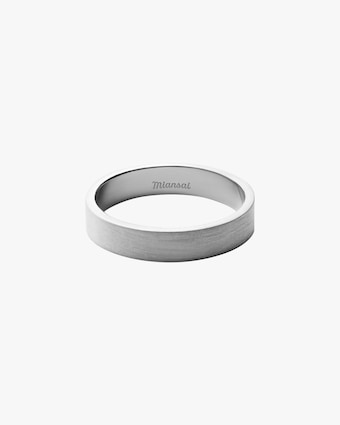 Men's Sterling Silver Band