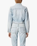 Hudson Lola Shrunken Trucker Denim Jacket 3