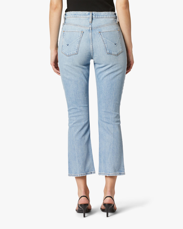 Hudson Holly High-Rise Crop Bootcut Jeans 4
