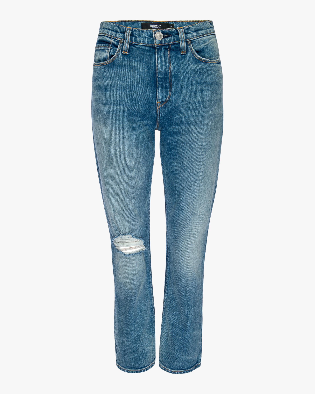 Hudson Holly High-Rise Crop Bootcut Jeans 0