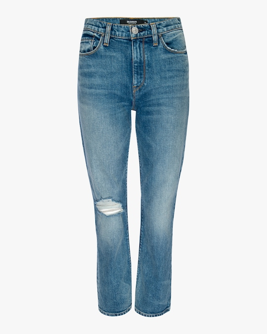 Hudson Holly High-Rise Crop Bootcut Jeans 0