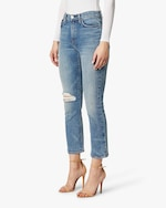 Hudson Holly High-Rise Crop Bootcut Jeans 2
