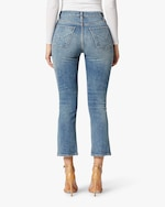 Hudson Holly High-Rise Crop Bootcut Jeans 3