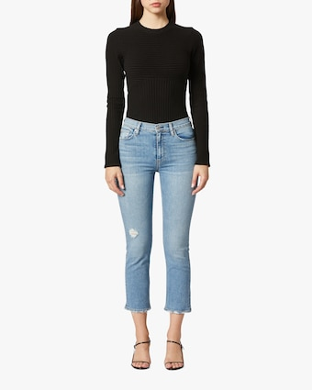 Barbara High-Waist Crop Jeans