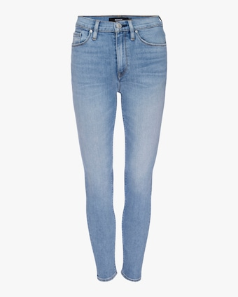 Barbara High-Waisted Super Skinny Ankle Jeans