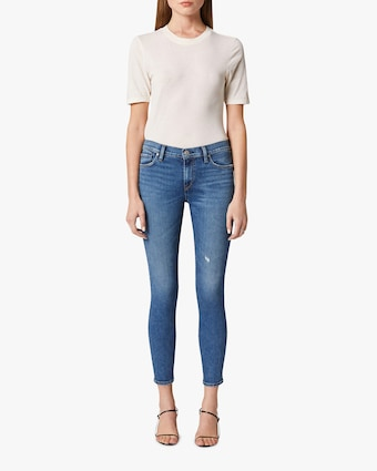 Nico Mid-Rise Super Skinny Ankle Jeans