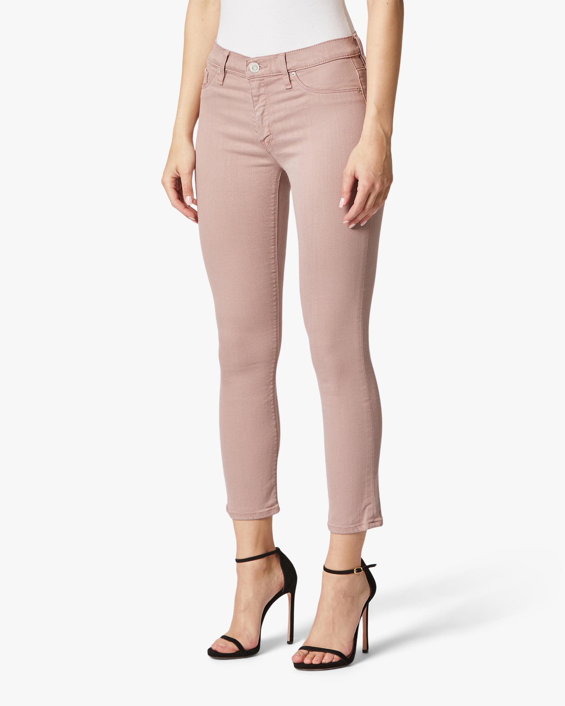 Hudson Nico Mid-Rise Skinny Crop Jeans 0