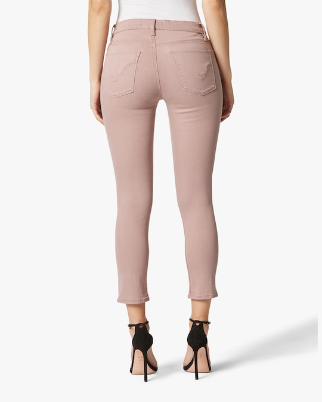 Hudson Nico Mid-Rise Skinny Crop Jeans 1