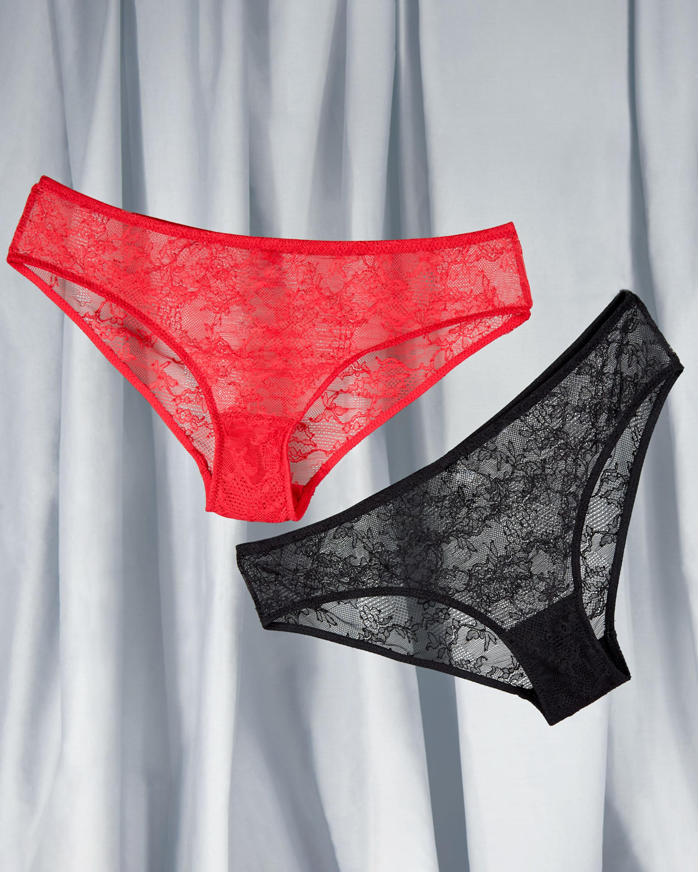 Noelle Wolf Bold Lace Bikini Brief 1