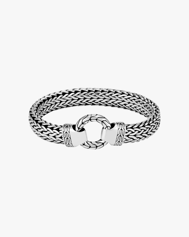 John Hardy Men's Classic Chain Large Flat Bracelet 1