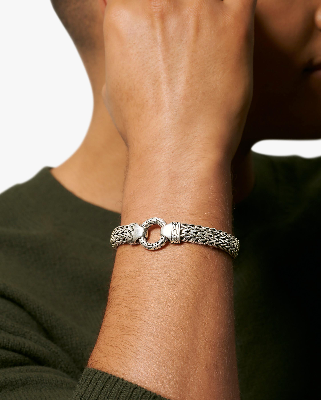John Hardy Men's Classic Chain Large Flat Bracelet 2