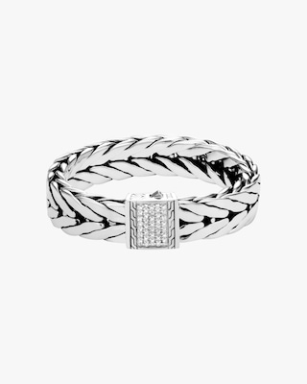 John Hardy Men's Modern Chain Pavé Bracelet 1