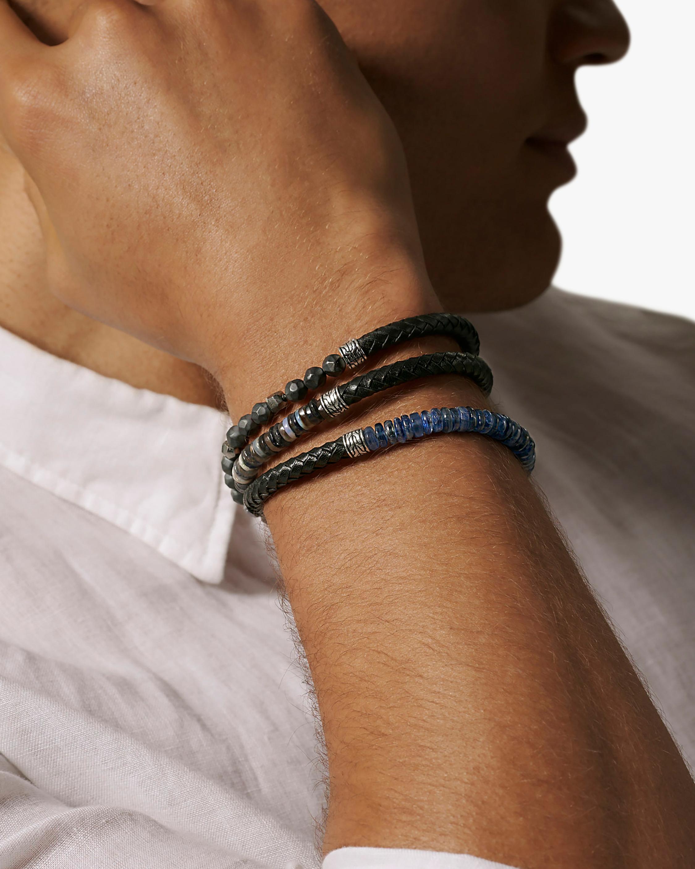John Hardy Men's Classic Chain Triple-Wrap Leather Bracelet 1