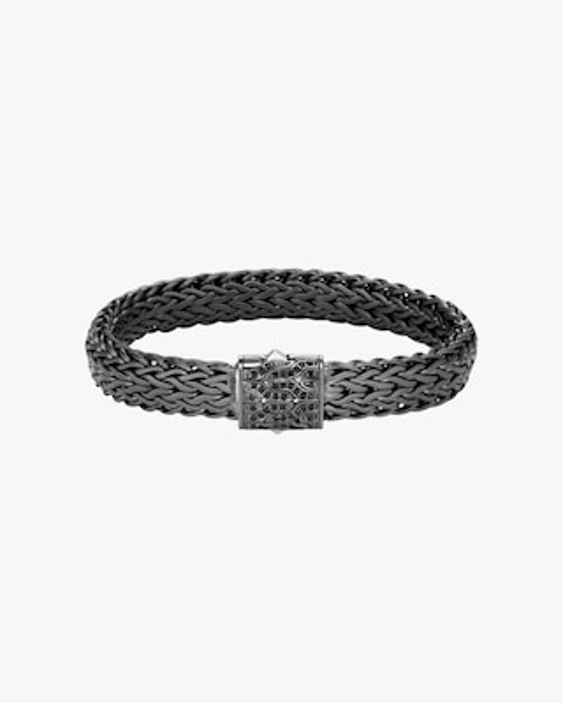 John Hardy Men's Classic Chain Black Sapphire Bracelet 1