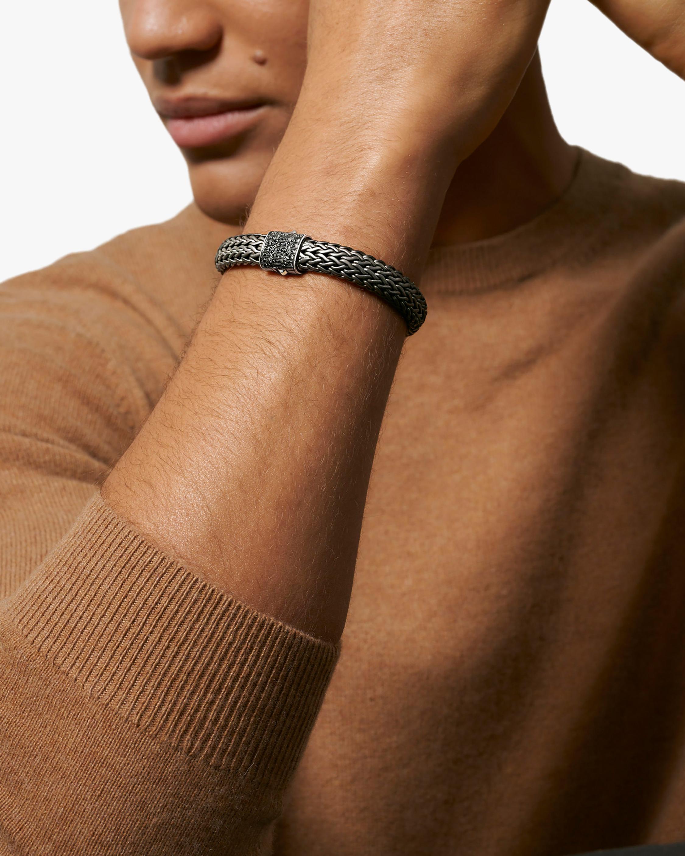 John Hardy Men's Classic Chain Black Sapphire Bracelet 2