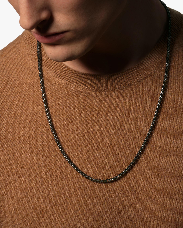 John Hardy Men's Classic Box Chain Necklace 1