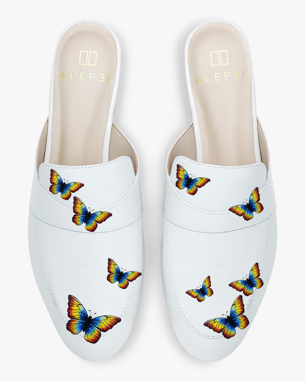 Rainbow Pride Butterfly Mule