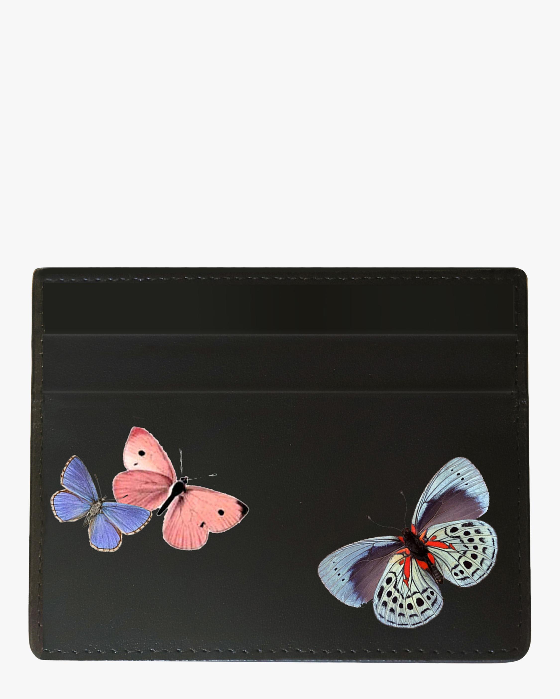 Alepel Butterflies Vegan Leather Card Holder 1