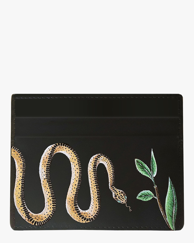 Serpent Vegan Leather Card Holder