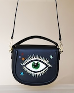 Alepel Eyes and Stars Vegan Leather Bag 2
