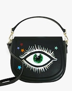 Alepel Eyes and Stars Vegan Leather Bag 0