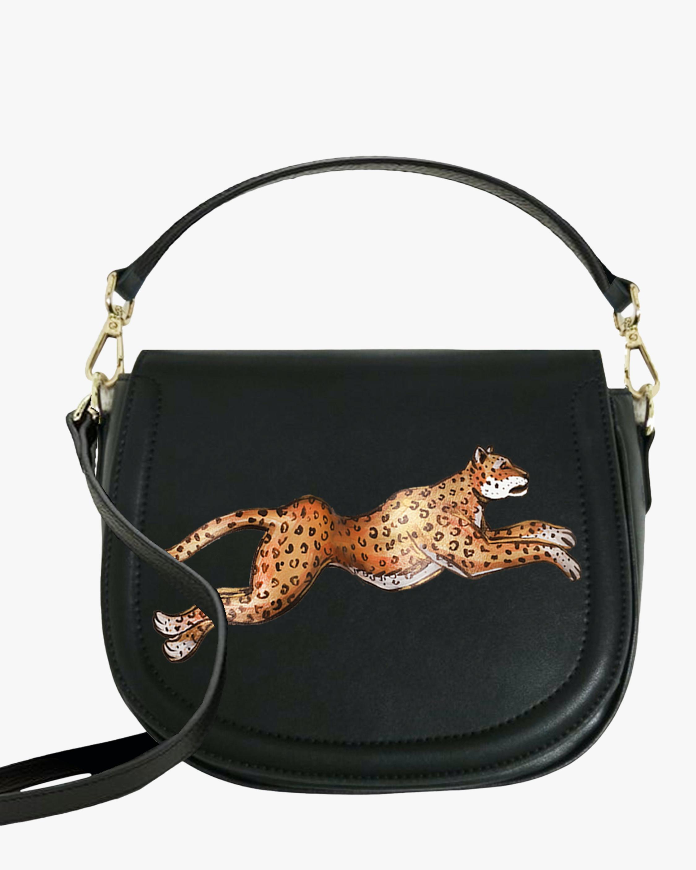 Leopard Vegan Leather Bag