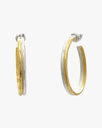 Mango Double-Hoop Earrings
