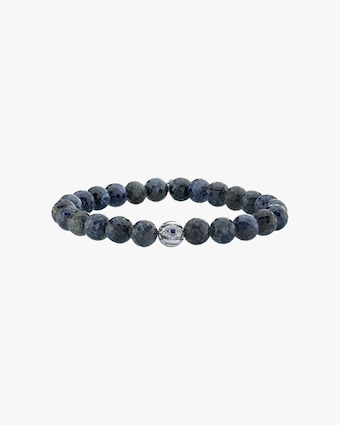 Men's Evil Eye Bead Beaded Bracelet