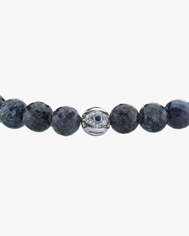 Sydney Evan Men's Evil Eye Bead Beaded Bracelet 2