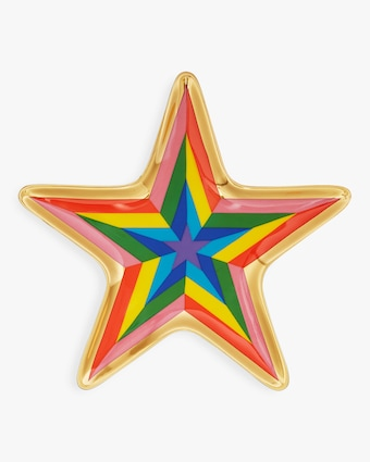 Technicolor Star Trinket Tray